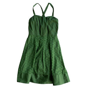 LIMITED Emerald Green Size 2 A-Line Dress